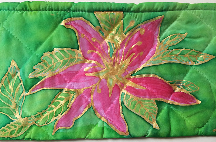 Lily Silk Pouch   Diana Norhtrop