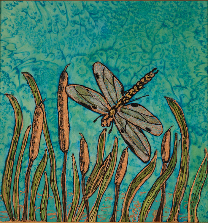 Dragonfly & Reeds | Diana Northrop