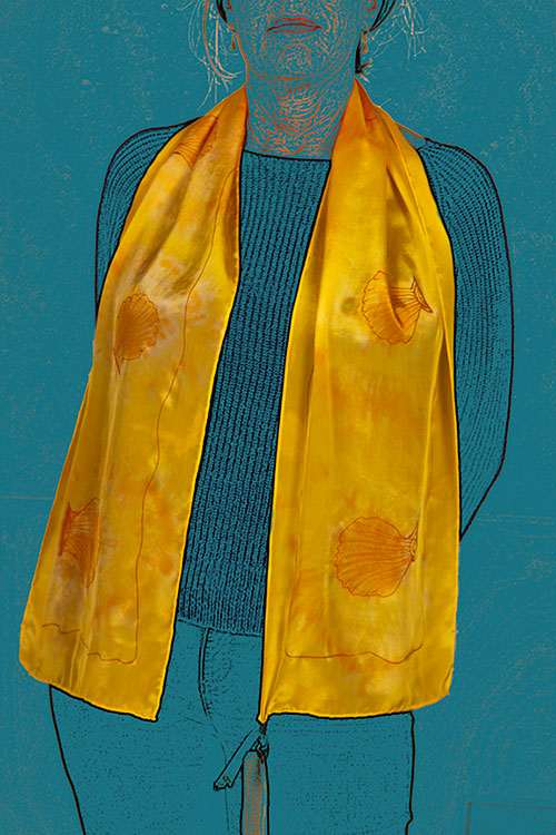 Scallop Season Scarf | Diana Northrop