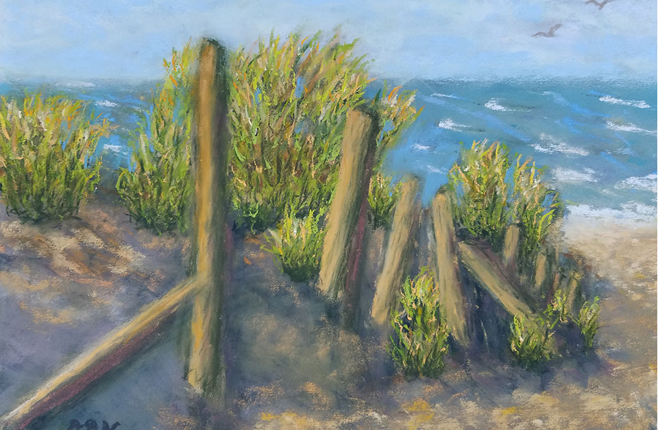 Nantucket Nirvana | Pastel by Diana Northrop