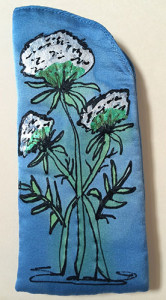 Queen Anne's Lace Eyeglass Case | Diana Northrop