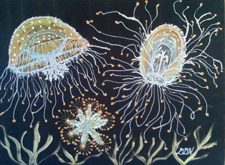 Sea Creatures I | Diana Northrop
