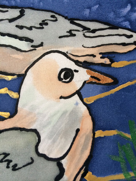 Seagulls at Rest | Detail