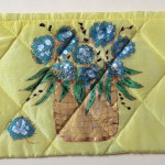 Nantucket Basket Silk Pouch | Diana Northrop