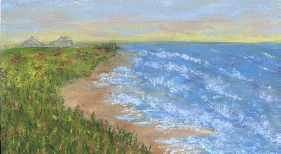 South Shore | Original Pastel by Diana Northrop